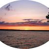 <b>Submitted By:</b> Steve Nowakowski <b>From:</b> Lambertville, Michigan <b>Description:</b> Sunset on Green Lake in Interlochen State Park 8-6-09 Canon Powershot A95