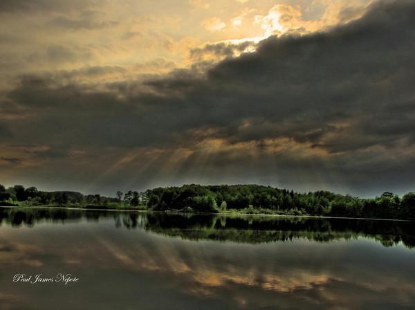 Sunset on Hicks Lake  Paul J Nepote Traverse City - Michigan Canon PowerShot SX10IS