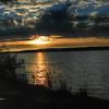 <b>Submitted By:</b> Paul J Nepote <b>From:</b> Traverse City, Michigan <b>Description:</b> Lake Leelanau at Bingham Road Launch Site, Sunset Looking Southwest