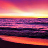 <b>Submitted By:</b> Gerald Martineau <b>From:</b> Arlington, VA <b>Description:</b> Sunset, Good Harbor beach, Glen Arbor, MI. July 2009.