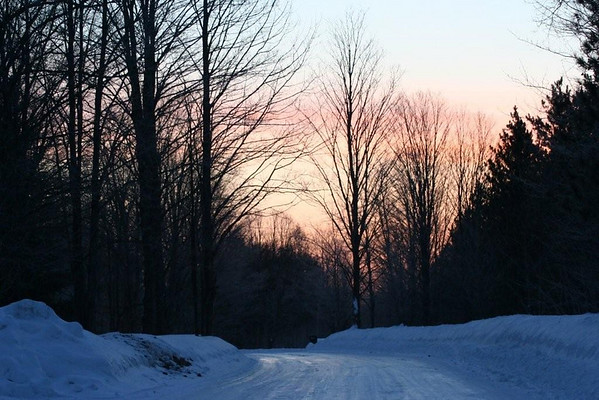 sunrise on homestead road<br /> mike giddis <br /> lake ann