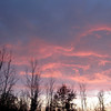 <b>Submitted By:</b> Sherry L. Good <b>From:</b> Interlochen, Michigan <b>Description:</b> The sky just out our front door.