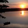Jonathan S. Basler<br /> Traverse City<br /> <br /> Saturday 6/9/07, Sunset Fishing on Lake Dubonett