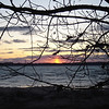 <b>Submitted By:</b> Sylvia Kievit <b>From:</b> Suttons Bay <b>Description:</b> Sundog Sunset on East Bay, April 2010, Elk Rapids