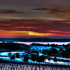 Sunset from Kropa Hill - Old Misson <br /> <br /> Photographer's Name: Paul Nepote<br /> Photographer's City and State: Traverse City, MI
