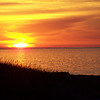 <b>Submitted By:</b> Teresa Mizgala <b>From:</b> Mancelona <b>Description:</b> A beautiful sunset at Whitefish Point, MI.