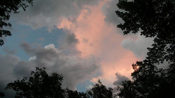 Evening summer sky near East Bay.<br /> Andrea Lingaur