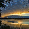 <b>Submitted By:</b> ROBERT L. JACOBS <b>From:</b> CHESTERFIELD ,IN <b>Description:</b> SUNRISE ON SILVER LAKE, TRAVERSE CITY , MI.