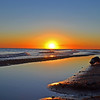 <b>Submitted By:</b> <b>From:</b> <b>Description:</b> Sunrise on the shoreline of Lake Superior inside Muskallonge Lake State Park in the summer of 2011.