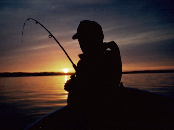 Paul Nepote<br /> Traverse City, Michigan<br /> <br /> Boys First Lake Trout<br /> West Grand Traverse Bay<br /> Kodak Auto 35mm Film
