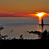 Sunset @ Frankfort Pier<br /> <br /> Photographer's Name: Steve Nowakowski<br /> Photographer's City and State: Lambertville, MI