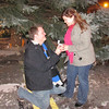 <b>Submitted By:</b> Roger Schoonover <b>From:</b> Blissfield, MI <b>Description:</b> Nathan Jones of Richmond, VA. proposes to Rachel Schoonover, of Blissfield, MI. at the Christmas tree on Front St. in downtown Traverse City last Saturday.  Miss Schoonover is a granddaughter of Traverse City resident Joyce Weber of Spider Lake.  Mr. Jones and Miss Schoonover are students at Northland Baptist Bible College in Dunbar, WI.  Submitted by: Roger Schoonover 318 Jefferson St. Blissfield, MI. 49228 (517) 486-2723 (517) 442-8698