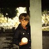 Paul Nepote<br /> Traverse City, Michigan<br /> Boy and His Baseball<br /> Clinch Park, Traverse City<br /> Nikormat FT 35MM Film