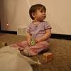 <b>Submitted By:</b> Bill Scott <b>From:</b> Traverse City <b>Description:</b> A little girl learning her A,B,C's from a Christmas bag of blocks; Ambient light