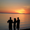 <b>Submitted By:</b> Jeaneene Nooney <b>From:</b> Kalkaska <b>Description:</b> Ain't it grand? Watching the sun set at the shore of Barnes Park.