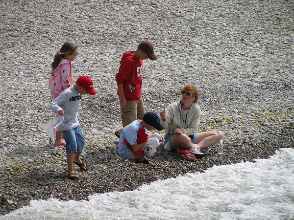 <b>Submitted By:</b> Paul Salvatore <b>From:</b> Lake City <b>Description:</b> Showing kids the joy and wonder of finding rocks