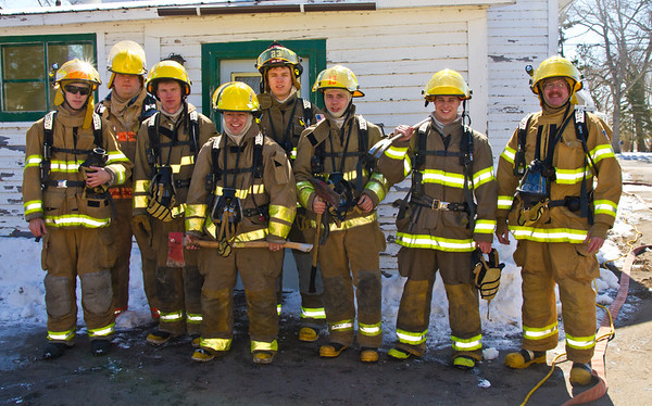<b>Submitted By:</b> Peggy Sue Zinn <b>From:</b> Traverse City <b>Description:</b> Next Generation of Fire Fighters- Manistee Fire School