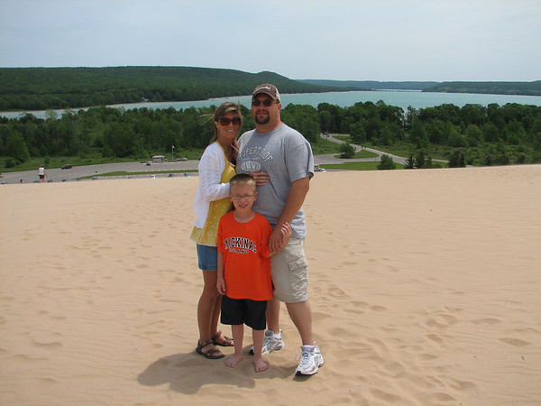 <b>Submitted By:</b> Rachel Buchjost <b>From:</b> Jefferson City, MO <b>Description:</b> Buschjost family vacation 2011. We started out in Traverse City, which is a wonderful community with lots of family beaches, to Empire Sleeping Bear Dunes, Mackinaw City, Mackinaw Island to the Upper Penninsula. We loved all the beautiful state parks/beaches and of course the water is breath taking to see. We will be going back to visit, as the whole family loved it.