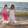 Natalie Byrne<br /> <br /> Traverse City<br /> <br /> Hannah and Maren at the beach behind the dam in Elk Rapids