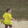 <b>Submitted By:</b> Ashley McLain <b>From:</b> Mancelona <b>Description:</b> Shailynn McLain age 2 on the beach at mackinaw city with her best friend her bear