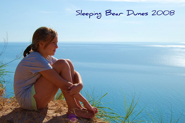 my name is jeffrey villafane from bellaire, mi.  i took this in august at <br /> the sleeping bear dunes of my daughter sarah at the end of a long wonderful <br /> day.