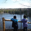 <b>Submitted By:</b> Kim Stern <b>From:</b> Acme Township <b>Description:</b> Hiking along the Sabin Pond Trail, 4/5/10.