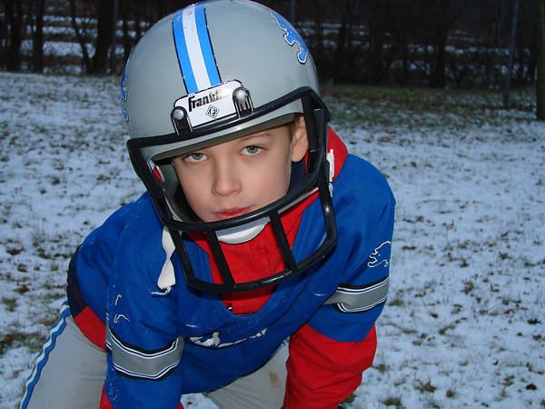 <b>Submitted By:</b> GARY B. HANSEN <b>From:</b> TRAVERSE CITY <b>Description:</b> ZACH THE GRANDSON WHO IS A BIG LIONS FAN