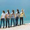 <b>Submitted By:</b> Alexis McCafferty <b>From:</b> Traverse City <b>Description:</b> This photo was taken by Mary McCafferty out at the sleeping Bear Sand Dunes in May 2009. From left to right the picture is of Tc West Senior High students, Kat Bott, Korinne Diss, Alexis McCafferty, Sayre Masters, and Gaby Muller.
