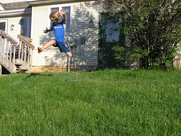 <b>Submitted By:</b> Melissa Huiskens <b>From:</b> Traverse City <b>Description:</b> Summer sprinkler fun!