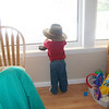 <b>Submitted By:</b> Colleen Jordan <b>From:</b> Bellaire <b>Description:</b> Blake Jordan looking out at Clam Lake