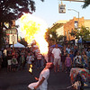 <b>Submitted By:</b> Patrick Daly <b>From:</b> Traverse City <b>Description:</b> Fire breathing at Friday Night Live, 7/20/2012.