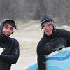 <b>Submitted By:</b> kayla Keenan <b>From:</b> traverse CIty  <b>Description:</b> News years day. Ryen Keenan (18) and Douglas Burke (20) went surfing at Frankfort.  The temperature started at 40 then dropped to 21 degrees.  They spent 20 mins in the car thawing out before they could move. They had a wonderful new years day.