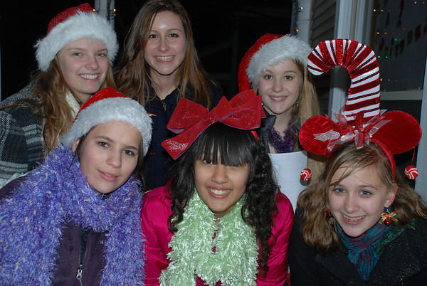 <b>Submitted By:</b> Dagmar Cunningham <b>From:</b> Traverse City Michigan <b>Description:</b> Carollers singing for us on Eleventh Street, it was such a wonderful surprise, thanks girls