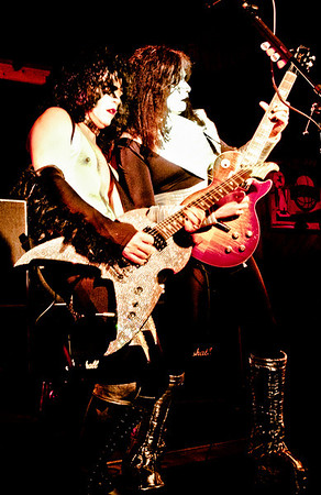 "<b>Submitted By:</b> Peggy Sue Zinn <b>From:</b> Traverse City  <b>Description:</b> Kiss Tribute Band ""Kiss'd"""