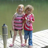 <b>Submitted By:</b> Joy Cascagnett <b>From:</b> Traverse City <b>Description:</b> My great neice and my grand daughter at the Manistee River in Mesick on my brothers property