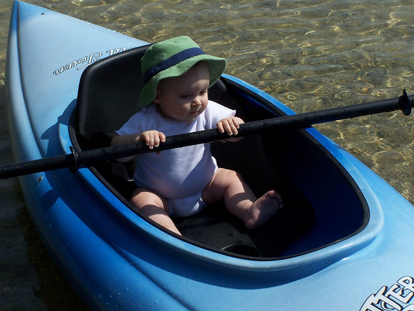 Amanda Whitsel<br /> Clio, MI (originally from TC)<br /> <br /> Nolan Whitsel, taken June 2, 2007 at Interlochen State Campground during a visit back to TC.  Mom and dad love kayaking and hope Nolan takes after them!