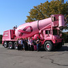 <b>Submitted By:</b> Linda Burkey <b>From:</b> Old Mission <b>Description:</b> Breast awareness is the October theme for the Old Mission Women's Club. The pink cement truck from Elmer's showed up for Oct. 6 meeting.