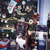 <b>Submitted By:</b> Thomas Baird <b>From:</b> Traverse City <b>Description:</b> Our dog Trooper during the Christmas Season, c.2004, at our house in Elmwood Township.