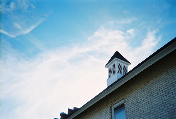"""On the grounds at the old state hospital. This is of a <br /> """"steeple"""" on one of the barns located on the grounds. This <br /> was taken in October.<br /> <br /> Scott Hart<br /> South Boardman"""
