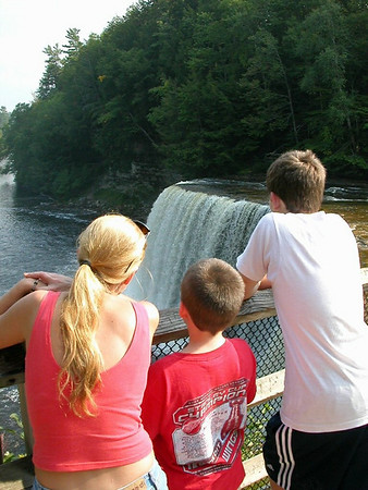 Troy Keith<br /> Rapid City, MI<br /> <br /> Photo of my family taken several years ago at Taquamenon Falls