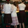 Three Scottish girls Rachel Courville, Jessica Hradek and Alex Friar<br />  Where is the Haggis? Photo by Sue Rehmann