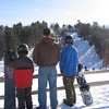 Rob, Steve, Matt Morse on the slopes @ Holiday Hills