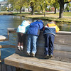 A Shot of my kids and their cousin looking at fish.<br /> <br /> <br /> Colleen Wylie