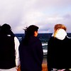 3 girls looking at Lake Superior.<br /> <br /> Kelli Day<br /> Casey Droste<br /> Liz Vernam<br /> <br /> The girls stopped at a lookout on their way to football playoffs at the dome <br /> in Marquette.<br /> <br /> Thanks,<br /> JoAnn Droste<br /> Traverse City, MI