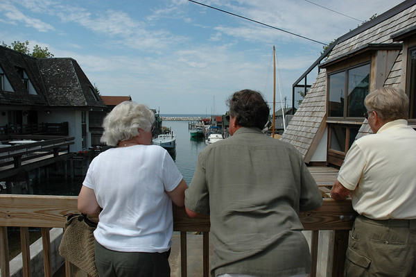 Overlooking Fishtown in Leland.<br /> <br /> Debbie Marsh<br /> Suttons Bay