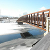 Special to the Record-Eagle<br /> Amanda Sullivan, a junior at Traverse City Central High School, took this picture of the pedestrian bridge on the Boardman Lake Trail.