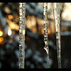"""C.J. Zamarron, a junior at St. Francis High School, continues her quest to take a picture every day for a year, a project that grew out of a photography class she took, with further inspiration from the 365 Project on Flickr, an online photo site. Above, """"Fire and Ice,"""" one of her winter pictures."""