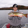<b>Submitted By:</b> GARY B. HANSEN <b>From:</b> TRAVERSE CITY <b>Description:</b> MY FISHING PARTNER GENE FOLCIK AND ONE OF HIS BROOK TROUT