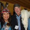 <b>Submitted By:</b> GARY B. HANSEN <b>From:</b> TRAVERSE CITY <b>Description:</b> G.B.H. WITH FRIEND JUDY RAMOS THE LEADER OF THE ALASKAN TLINGHIT DANCERS