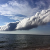 An arcus, or roll, cloud signaled the front of an incoming cold front and was spotting coming ashore off of Lake Michigan on Saturday evening. Visit Record-Eagle.com to see a gallery and video of the roll cloud.